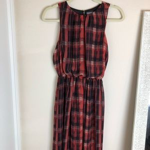 Vince Camuto maxi sheer dress